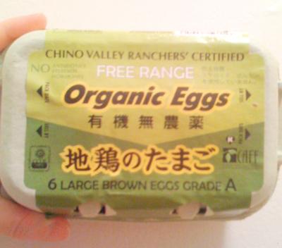 Chino Valley organic egss