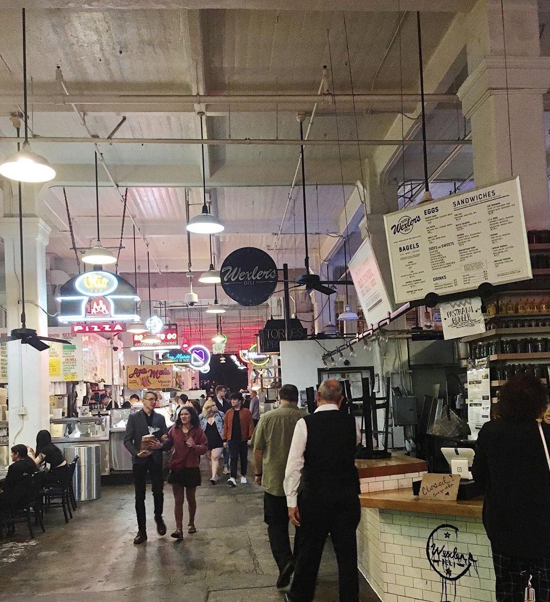 Grand Central Market interior