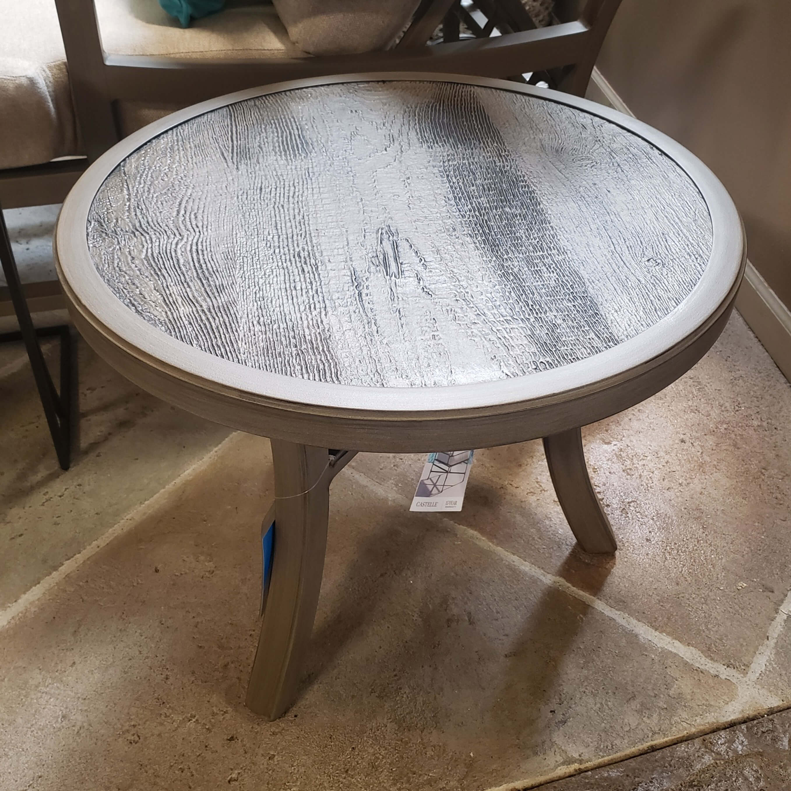 castelle heritage 24 round side table