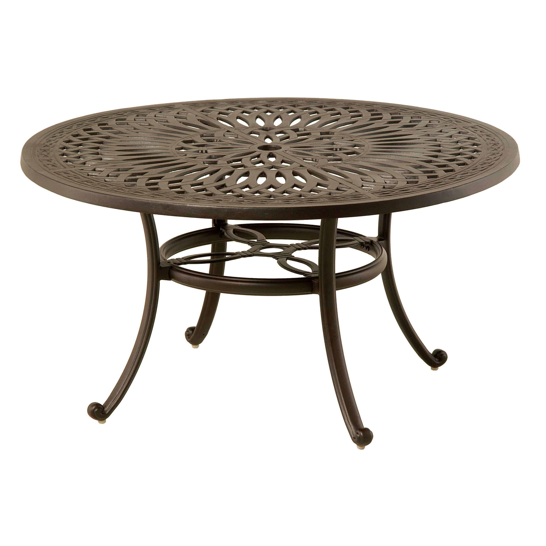 hanamint mayfair 42 round coffee table