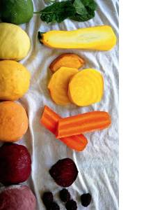 Naturally Colored Ravioli Dough with Butternut Squash Stuffing (Vegan)