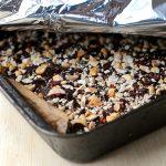 Butterfinger breakfast bars, vegan, gluten free