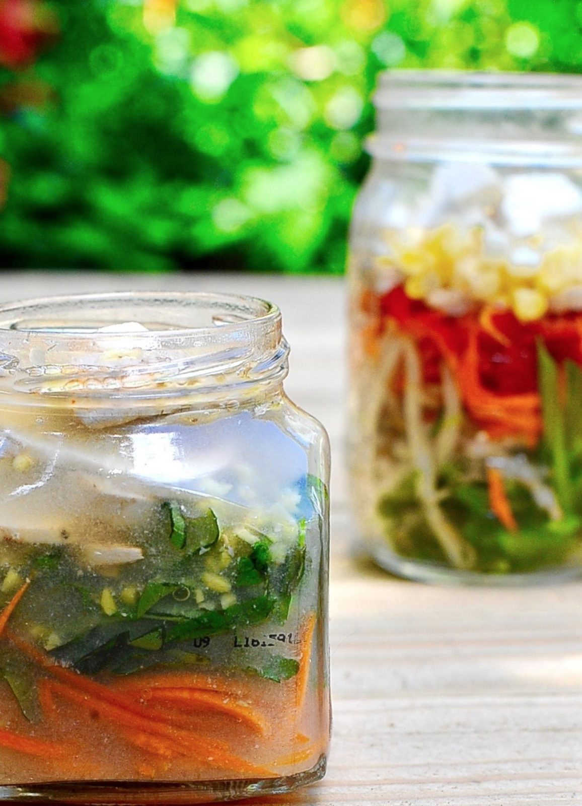 Mason Jar Miso Soup (Vegan)