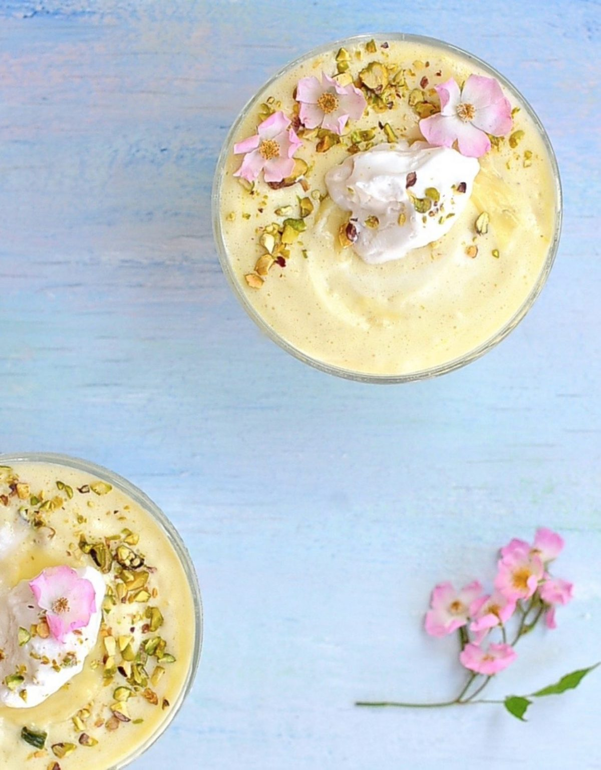 Lemon Mousse for A Magical Fairy Tea Party (Vegan)