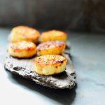 "Miso Glazed Eggplant ""Scallops"", Vegan, Gluten Free"