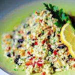 Raw Cauliflower Tabbouleh (Vegan, Paleo, GF)
