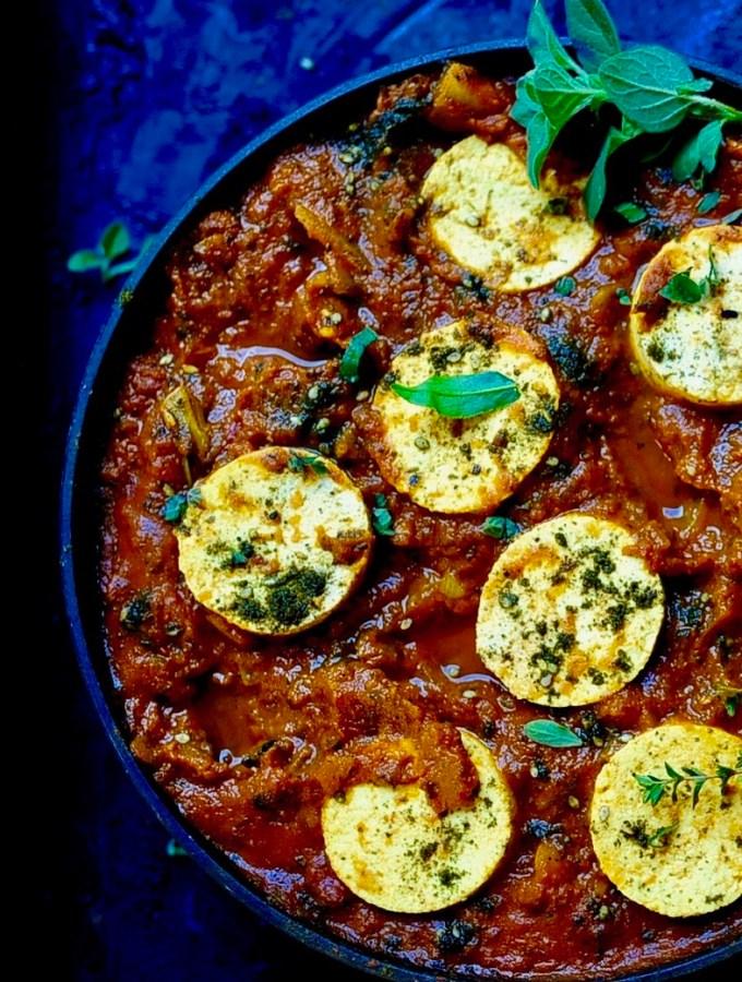 Vegan Shakshuka, One Pan, 30 minutes