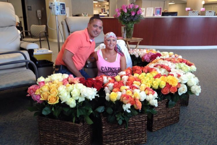 husband has 500 roses wife chemo