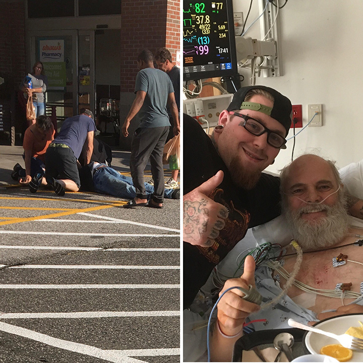 man save stranger cpr