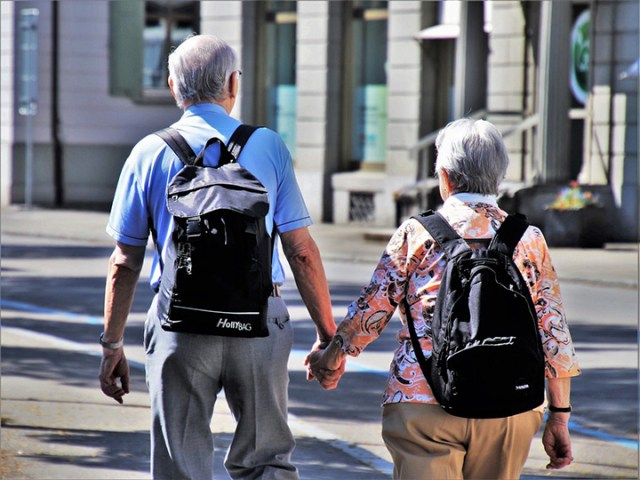older people are younger now