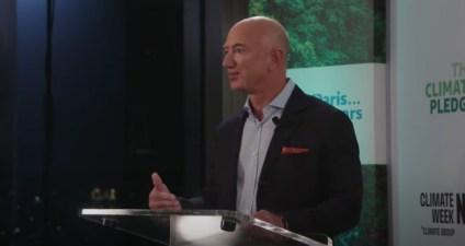 Jeff Bezos announces $1 billion pledge