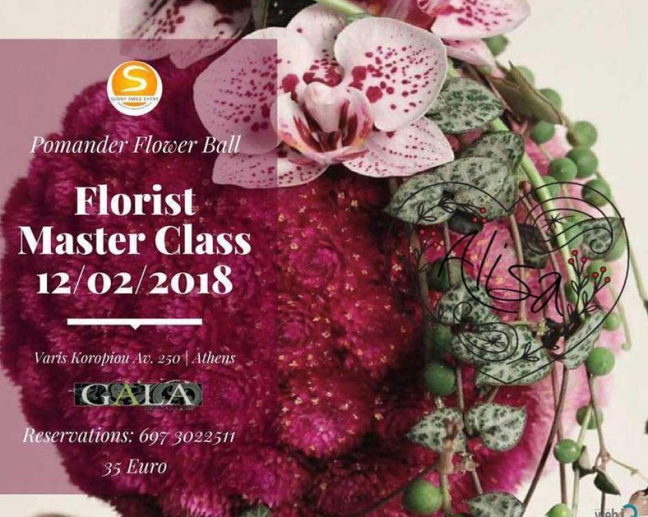 SUNNY SMILE EVENT masterclass florist