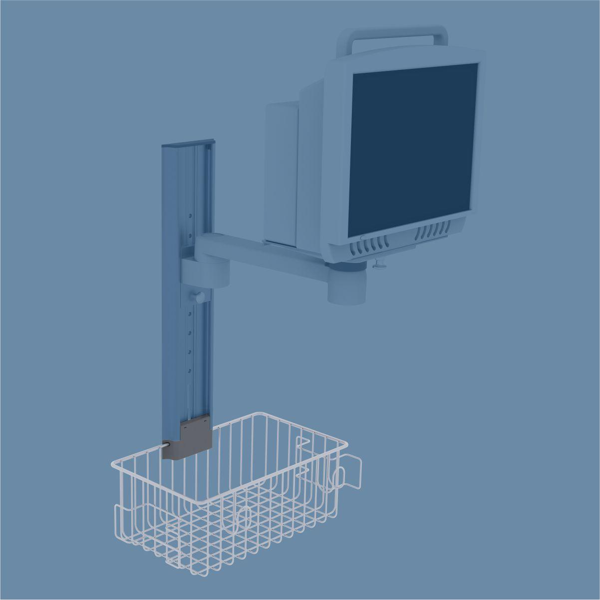 Medical Basket, Cable Hook, Medical Cable Holder