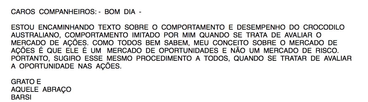 Email do Luiz Barsi