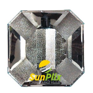 SunPlix CMH-1000R double ended (DE) high quality open reflector