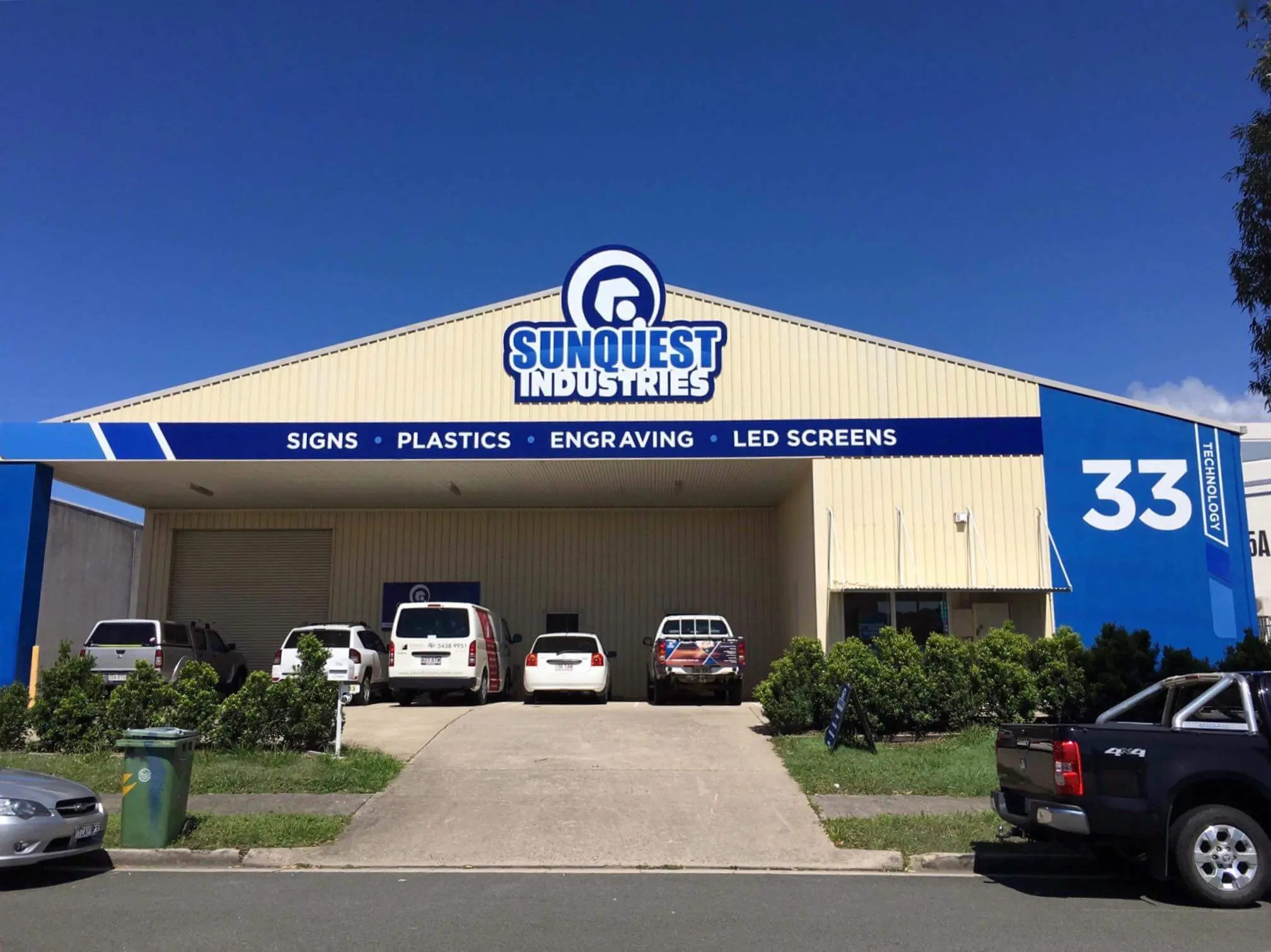 Sunquest Industries | Custom Signs Sunshine Coast