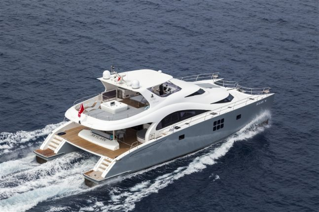 SKYLARK Sunreef Catamaran Location De Vacances Sunreef