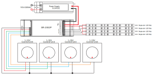 Easy Connection 0110V Constant Current Dimmer SR2014P
