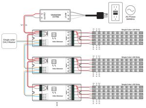 Constant Voltage DALI Dimmer SR2302BEA