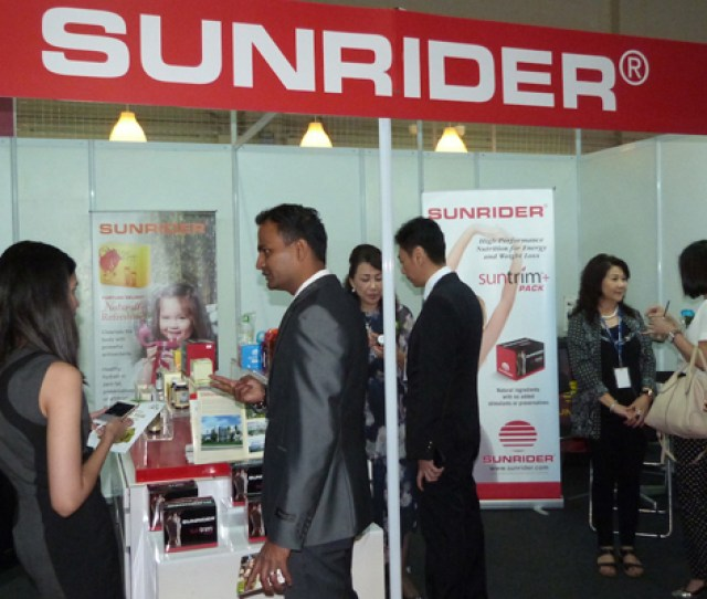 Sunrider Malaysia Took Part In The Malaysia International Retail Franchise Licensing Fair Mirf 2016 Held March  At Mid Valley Exhibition