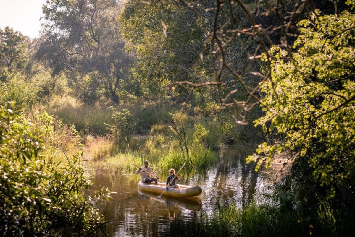 Canoe, Canoeing Wild on the Zambezi River