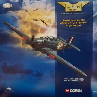 AA32002 Hawker Hurricane corgi