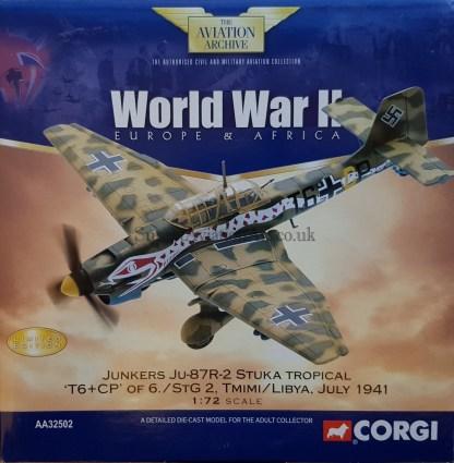 Corgi AA52502 Junkers Ju-87