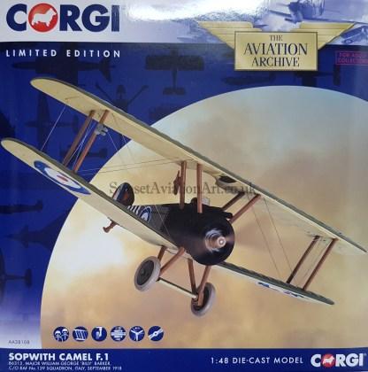 AA38108 Sopwith Camel F.1 Corgi