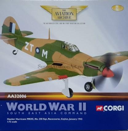 Corgi AA32006 Hawker Hurricane Mk II C