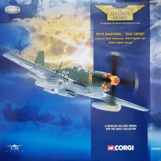 Corgi AA32201 P-51 D Mustang