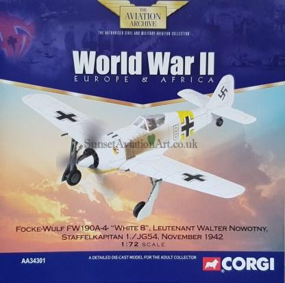 Corgi AA34301 Focke Wulf FW 190 A-4