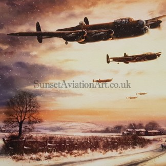Last Mission Before Christmas-Lancaster