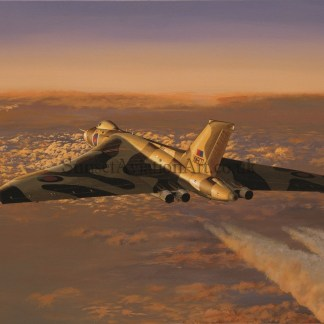 Aviation Birthday Card Avro Vulcan Corporate Prelude