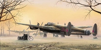 lancasters at the ready greeting cards