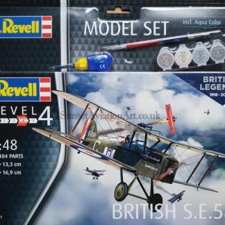 03907 Revell British S.e.5a