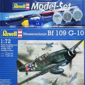 04160 Revell Messerschmitt Bf109 G-10
