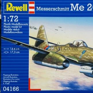 04166 Revell Messerschmitt Me 262 A-1a