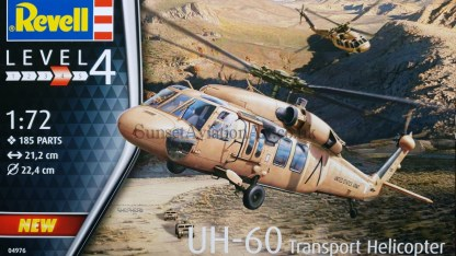 04976 Revell UH-60 Transport Helicopter