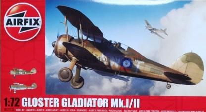 A02052A Airfix Gloster Gladiator Mk.I II