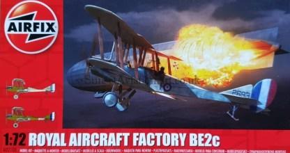 A02101 Airfix Royal Aircraft Factory Be2c