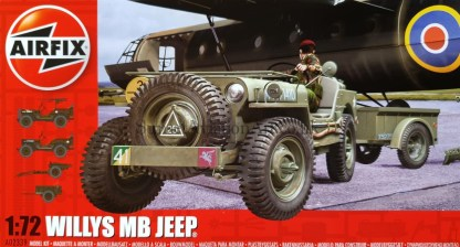 A02339 Willys Mb Jeep