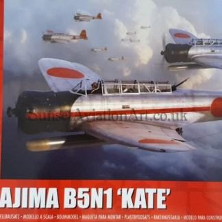 A04060 Airfix Nakajima B5N1 Kate