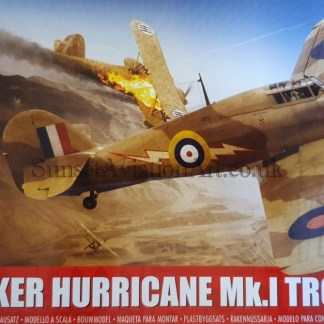 A05129 Airfix Hawker Hurricane Mk.I Tropical