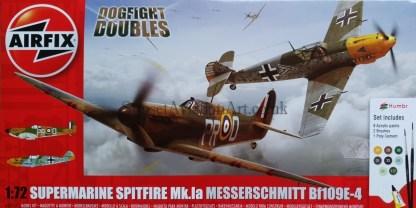 A50135 Airfix Supermarine Spitfire Mk.Ia Messerschmitt Bf109 E-4