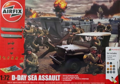 A50156A Airfix D-Day Sea Assault