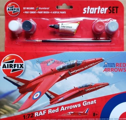A55105 Airfix Red Arrows Gnat