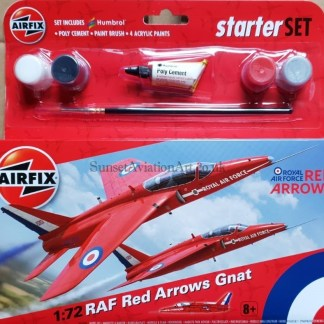A55105 Airfix Red Arrows Gnat