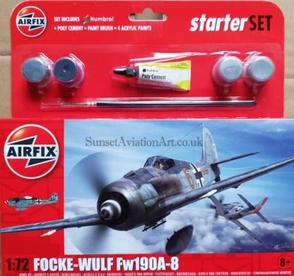 A55110 Airfix Focke - wulf Fw109 A-8