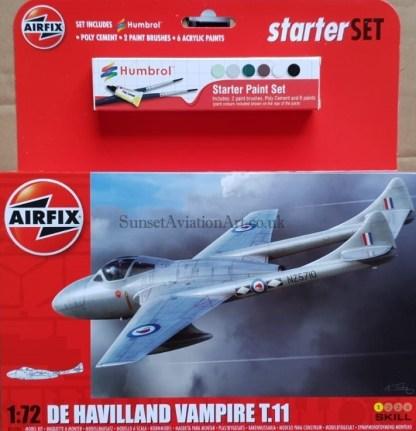 A55204 Airfix De Havilland Vampire T.11