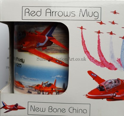 Red Arrows mug